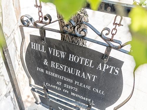 hill view pissouri hotel